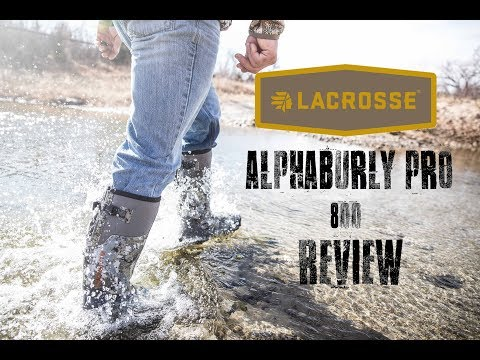 Lacrosse AlphaBurly Pro Boot REVIEW | Hunting Gear Reviews