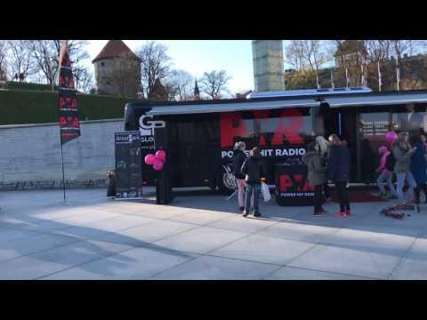 Local news. Power hit radio @Vabaduse väljak. Tallinn 2017