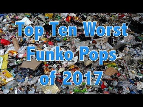 Top 10 Worst Funko Pops of 2017