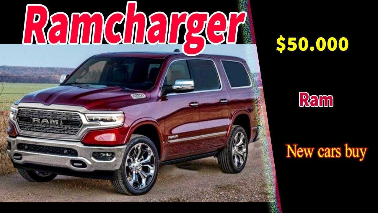 2020 dodge ramcharger suv