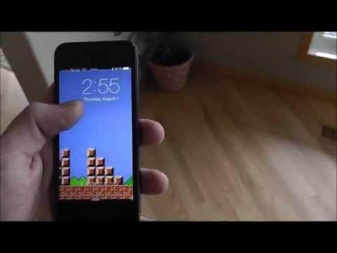 Mario wallpaper for iOS7