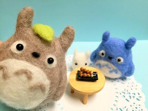 Amigurumi Totoro : Diy eos lip balm amigurumi totoro my neighbor totoro video