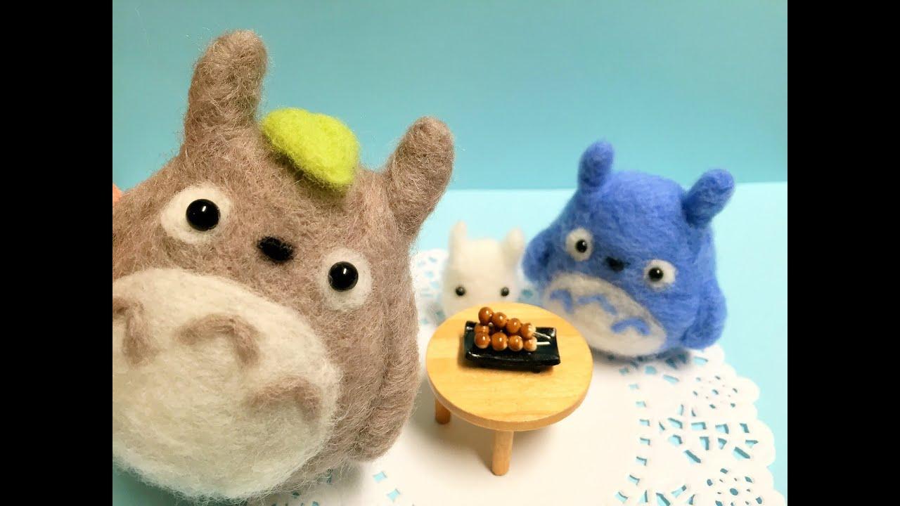 手作りジブリ☆トトロの雑貨の作り方!♡服・コスプレ・インテリア♪