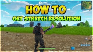 How to get Stretched Resolution in Fortnite Season 9! (AMD and NVIDIA)