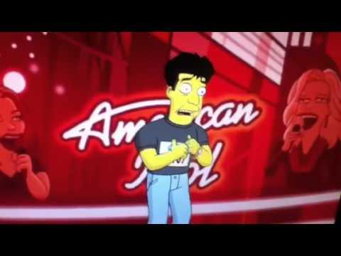 The Simpsons Judge American Idol