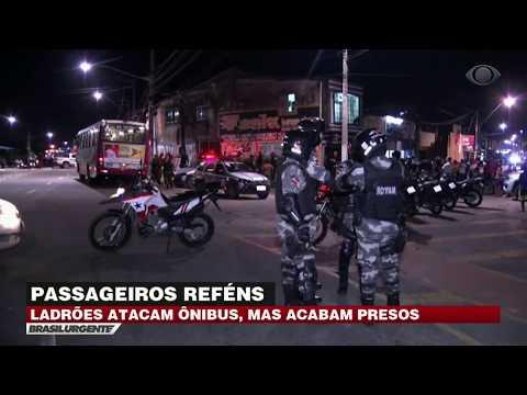 PA: Ladrões atacam ônibus e acabam presos