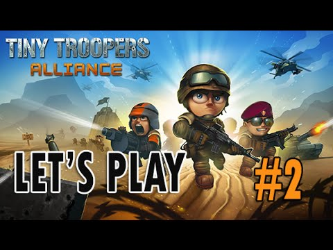 Tiny Troopers Alliance - Part #2 No more Shield protection (Combat Strategy iOS)