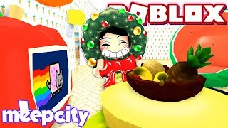Divertimento fruity fresco!! -Roblox MeepCity-jogos DOLLASTIC!