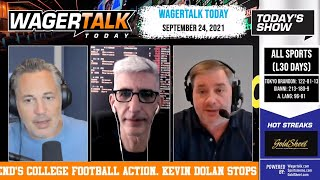 Free Sports Picks | College Football Picks | Joshua vs. Usyk Preview | WagerTalk Today | Sept 24