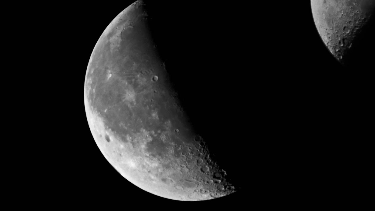 The moon bresser skylux ng telescope. youtube