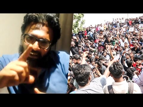 """This Protest is going to make History"" - Director Ram 