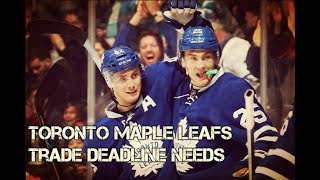 What will the Toronto Maple Leafs do at the NHL trade deadline?