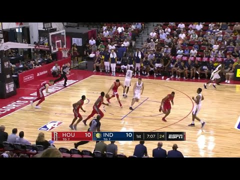 1st Quarter, One Box Video: Indiana Pacers vs. Houston Rockets