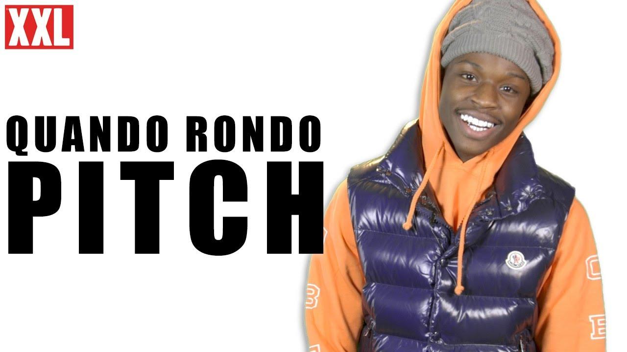 Quando Rondo's 2019 XXL Freshman Pitch