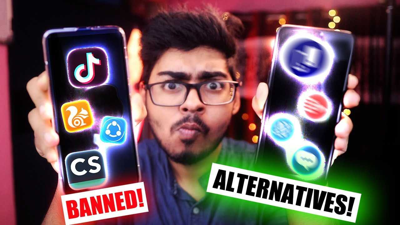 Top Alternatives of BANNED Chinese Apps in INDIA You Should Know!
