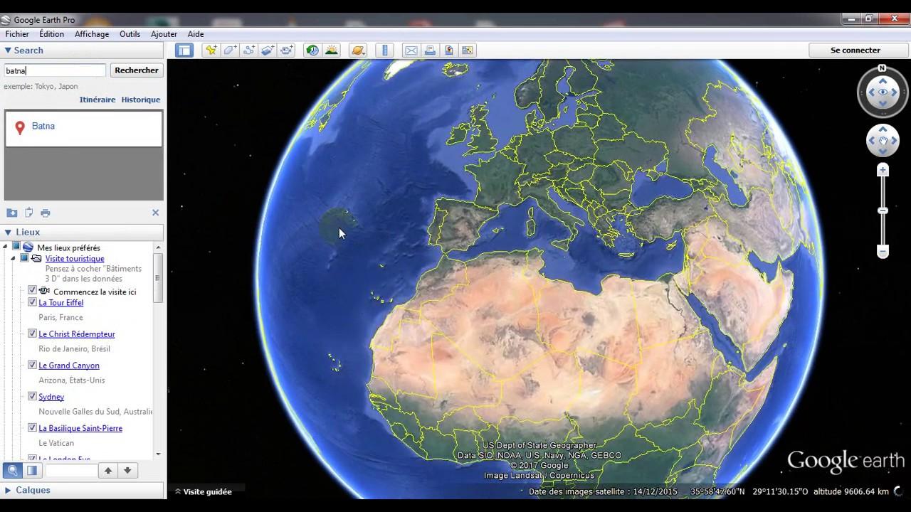 طريقة الحصول على الخريطة الطوبوغرافية لاي منطقة باستخدام جوجل ايرث و بسهولة Youtube