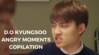 EXO 엑소 D.O KYUNGSOO Angry And Mad Moments Compilation