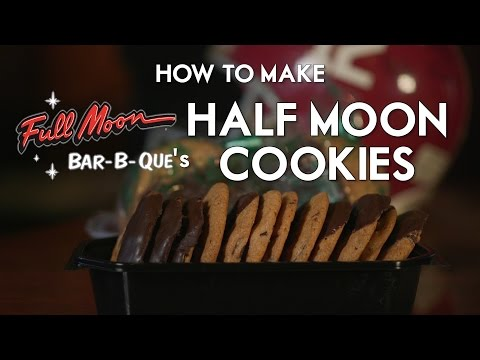 How to make Full Moon BBQ's Half Moon Cookies - Ultimate Tailgate with Southern Chefs
