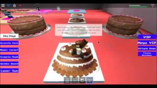 Roblox - Fugindo Do Bolo (Escape The Cake)