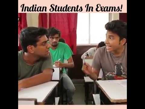 Types of Students & Teachers during Exams Funny video