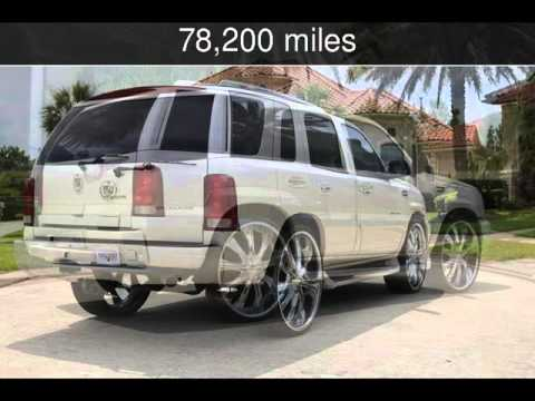 Used Cadillac Escalade For Sale >> 2006 Cadillac Escalade SunRoof Clear CarFax Cold AC 28 Inch Rims Used Cars - Houston,TX - 2015 ...