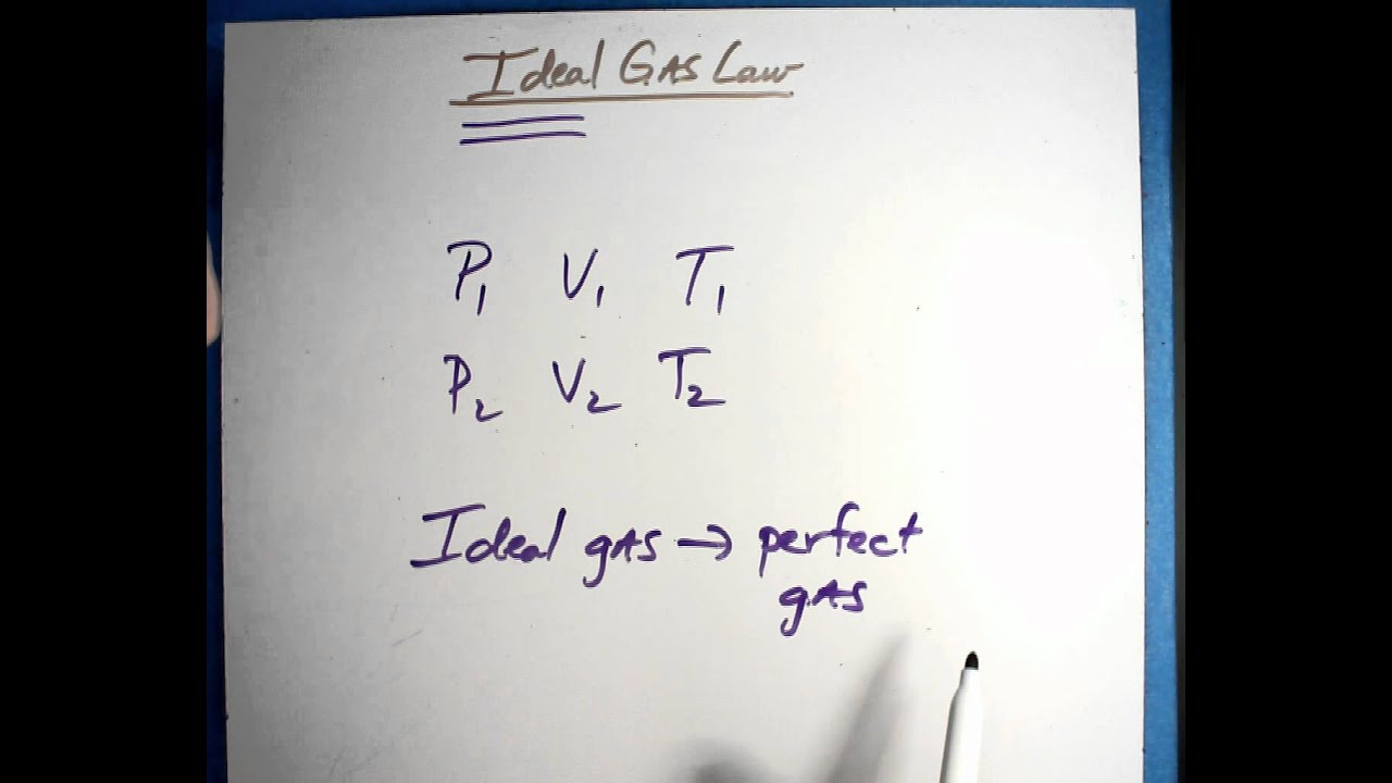 Ideal Gas Law vid1 - YouTube