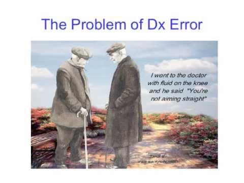 Dr Mark Graber | Reducing diagnostic error in medicine: what can I do?