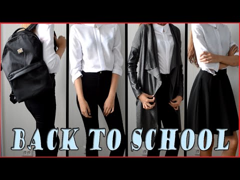 BACK TO SCHOOL || HAUL || Одежда в школу | Zara, Stradivarius, Bershka | Покупки