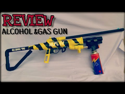 how to make an alcohol gun
