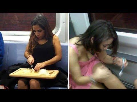 Смешные ситуации в общественном транспорте