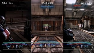 Mass Effect 3 Wii U/PS3/360 Gameplay Frame-Rate Tests