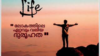 LIFE || WHATS APP STATUS || AJ CREATIONS