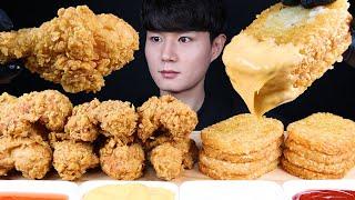 해쉬브라운 치킨 먹방ASMR MUKBANG FRIED …