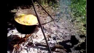 Мужская кухня. Суп с фрикадельками.