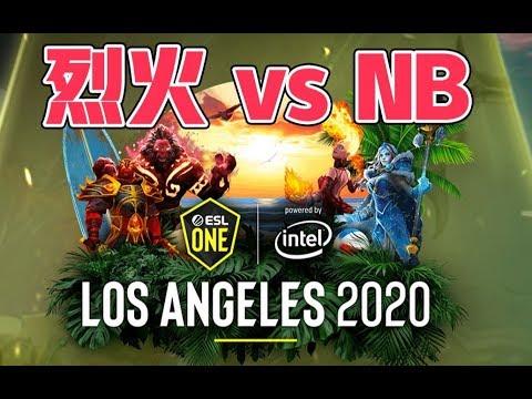 【B神解说】烈火 Vs Newbee 第二局(洛杉矶major预选赛)