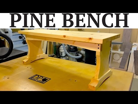 How to Make a Simple Pine Bench