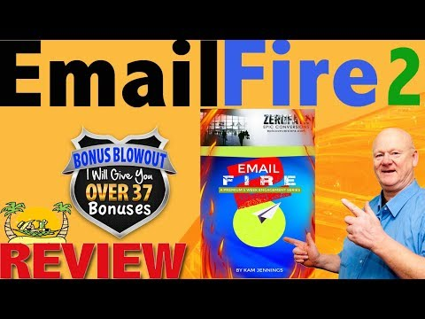 Email Fire 2 Review & Fully Loaded Complimentary Bonus Bundle. http://bit.ly/2ZvaiiA