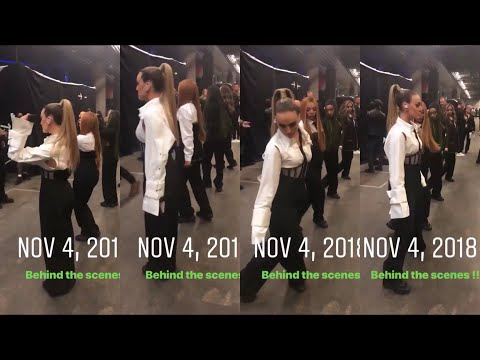 Little Mix rehearsal before go to the stage on MTV EMA 2018