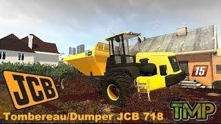 FS15 DUMPER Tombereau JCB 718 \