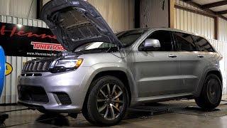 1003 Wheel HP Jeep Trackhawk Dyno Testing