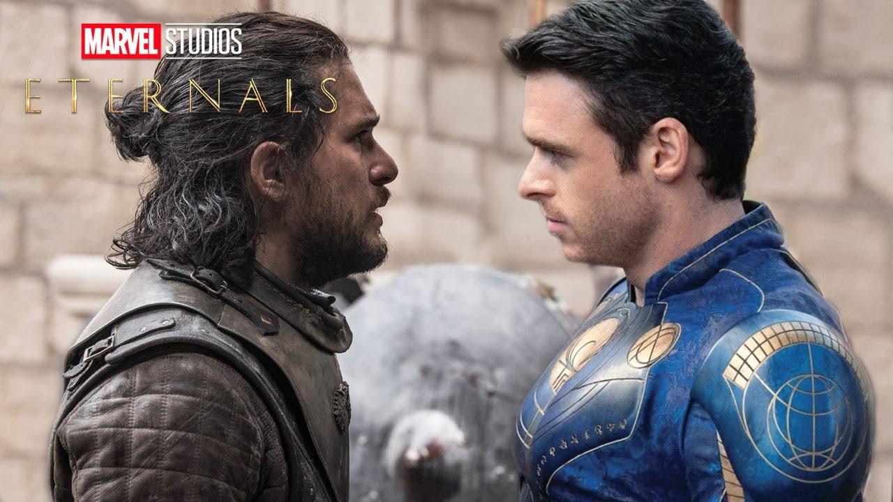 Download Eternals Trailer: Kit Harington Black Knight and Ikaris Explained - Marvel Phase 4