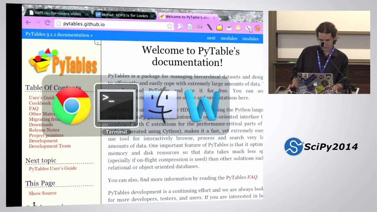 HDF5 is for Lovers - part 1 | SciPy 2014 | Anthony Scopatz
