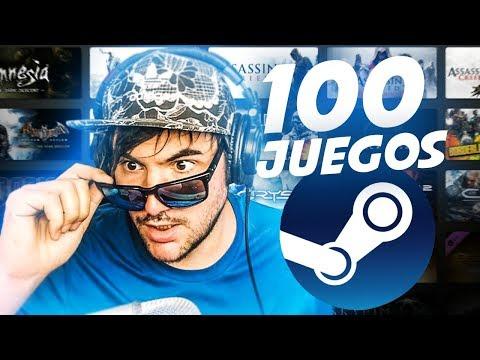 ESTOS SON LOS 100 JUEGOS QUE TENGO EN STEAM !!!