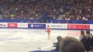 Алина Загитова 2 место, Чемпионат России по фигурному катанию, Челябинск 24.12.2016