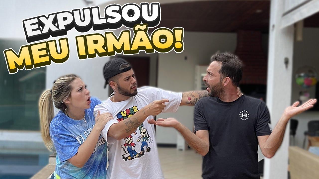 ELE EXPULSOU MEU IRMÃO DA NOSSA CASA!!