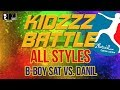 [ALL STYLES] B-BOY SAT vs. DANIL | KIDZZZ/BATTLE