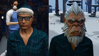 GTA 5 SECRET CHRISTMAS DLC ITEMS! - ABOMINABLE SNOWMAN MASK, CHRISTMAS OUTFIT & MORE! (GTA V DLC)