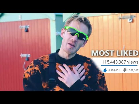 Top 100 Most LIKED Songs Of All Time (June 2019)