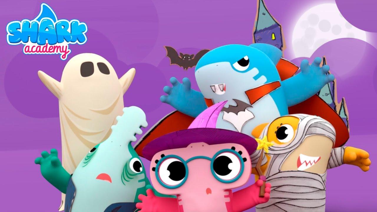 Shark Academy - Baby Shark Halloween - Baby Shark Nursery Rhymes for Children