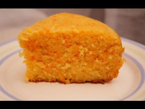 Рецепт Морковный пирог.Простой рецепт морковного тортика.Готовим всей семьей без регистрации
